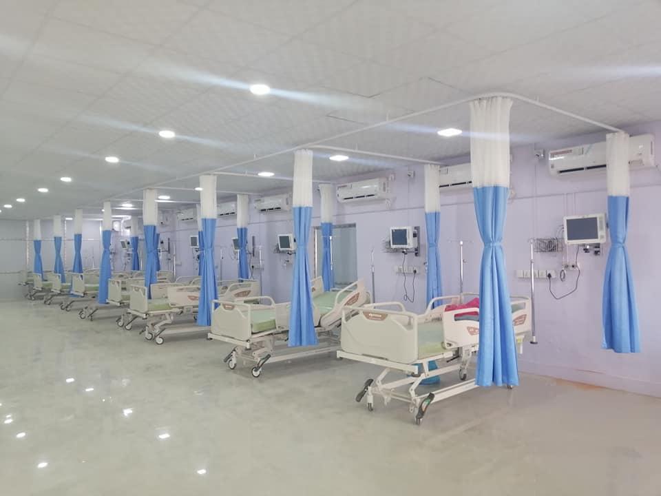 धागो कारखानाको अस्पतालमा जोडिए आईसियु (फोटो फिचर)