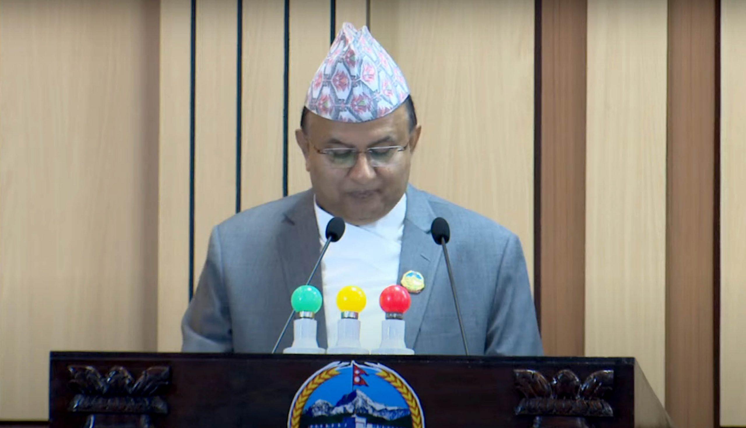 संसदमा बहुमत गुमे एक मिनेट पनि सरकारमा बस्दिनः शंकर पोखरेल