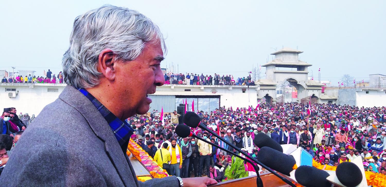 विरोध भन्दै चुनावी प्रचारमा नेपाली कांग्रेस