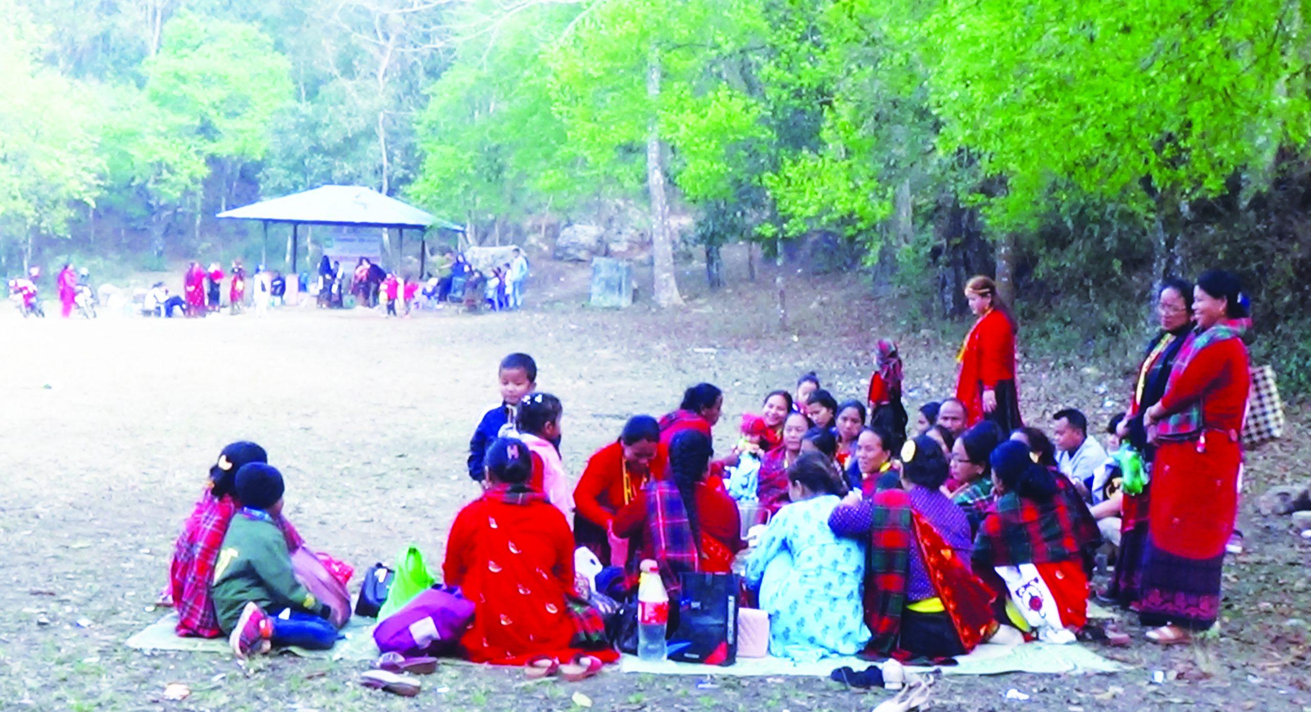 पर्यटन क्षेत्र तङ्ग्रिदै