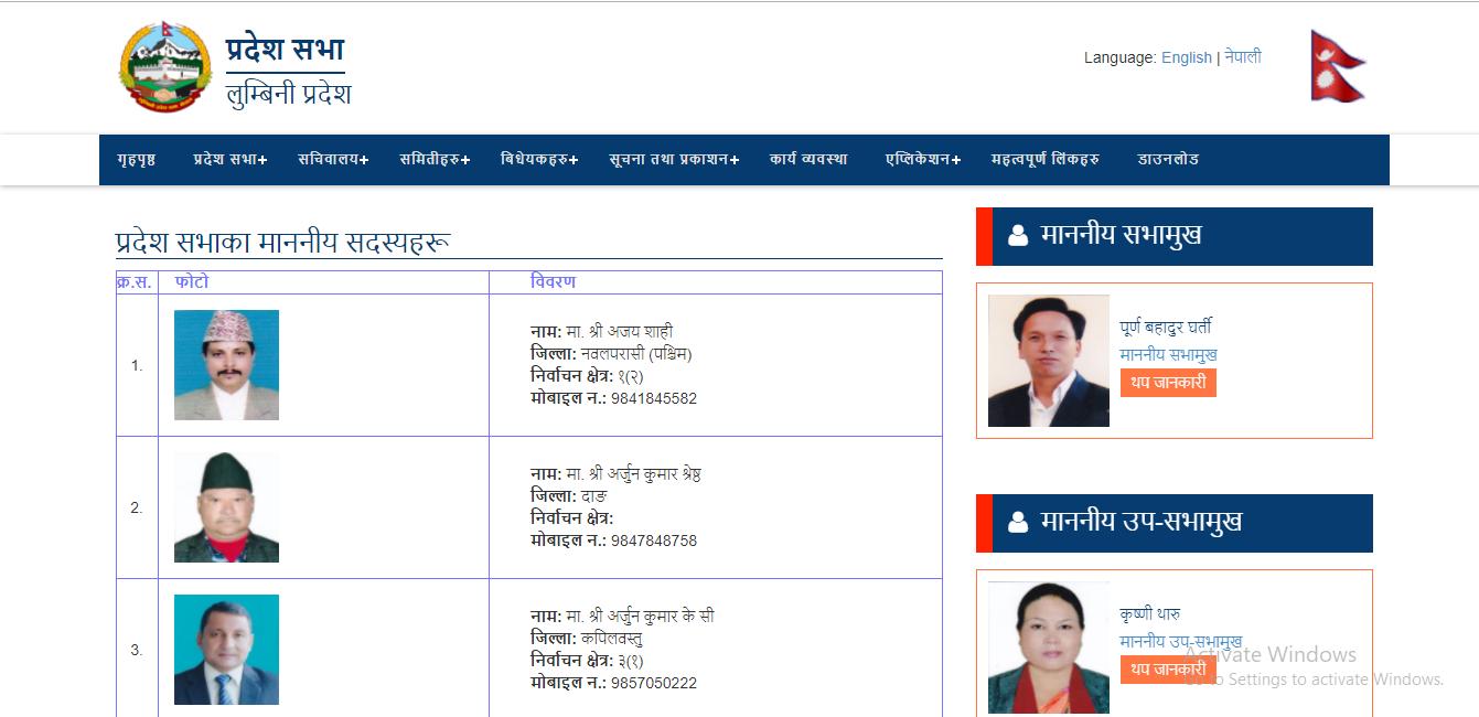 सर्वोच्च अदालतको आदेश लुम्बिनी प्रदेश सभाद्वारा अवज्ञा