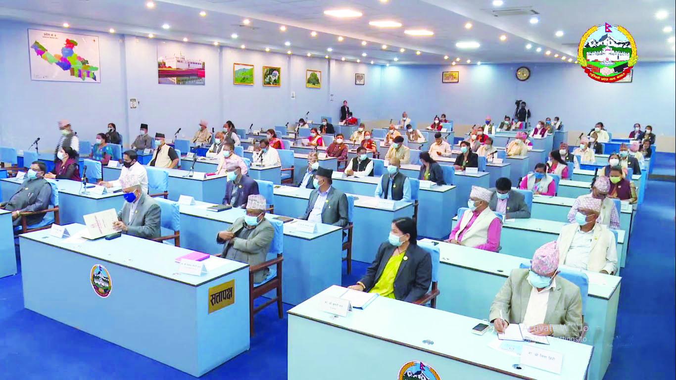 बिचरा पर्यो लुम्बिनी सरकारको बजेट